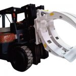 Lampiran Forklift 360 Putaran Pengapit Roll Kertas Single Lengan