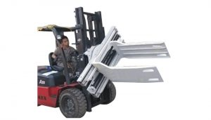 Bale Clamp Forklift Attachments Sisa Kertas Bale Clamp