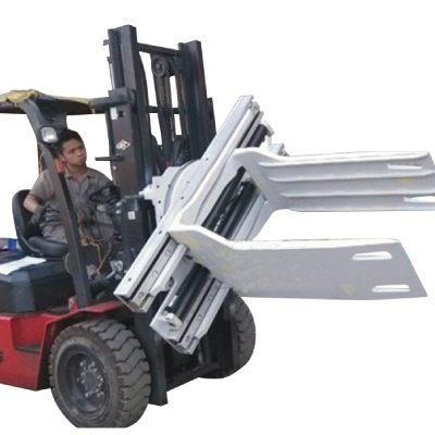 Kelas 3 Forklift Lampiran Kapas Bale Clamp Dengan 575-2150 mm