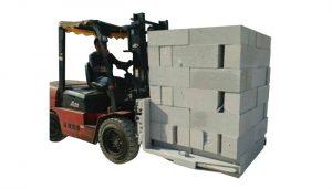Blok Konkrit Hidraulik Forklift Blok Pengangkat Mengangkat