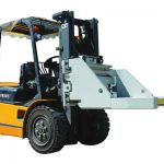 Forklift attachment brick brick