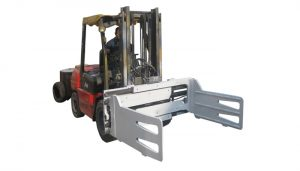 Trak Fork Rotating Bale Clamps With Forklift