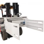 Ekonomi Forklift Revoling Bale Clamp Mmanufacture