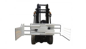 Bail Clamp Revolving Hidraulik yang cekap untuk Trak Forklift