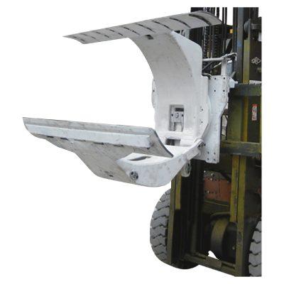 3 Ton Trak Forklift Diesel dengan Lampiran Pengapit Roll Paper