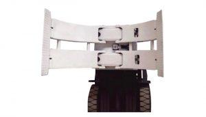 Peralatan Pengendalian Bahan 2ton TB series roll pallet truck manual stacker pallet Paper clamp folder folder