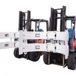Bahagian hidraulik Forklift 25f Paper Clamp Parts yang digunakan dalam Gypsum Board Facing