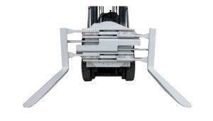 Kelas 2 Forklift Attachment Rotating Fork Clamp Dengan Panjang 1220 mm