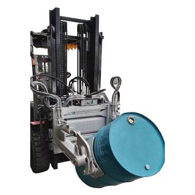 Hidraulik Forklift 55 Ggallon Drum Clamp untuk Forklifts