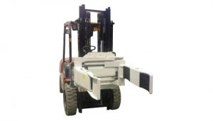 Cekap Forklift Hidraulik Cekap Rotating Fork Clamp (2 Pairs Fork)