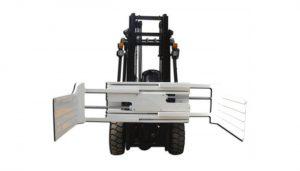 Pelbagai besar pelekat angkat trak pelekap bale clamp peralatan dengan forklift