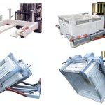 Taipkan NWB-T Wheelie Bin Tipper untuk Forklift