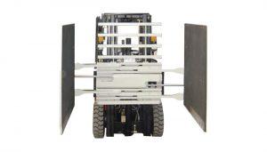 Pengeluar penggelek kertas lampiran Forklift