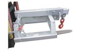 Jenis tugas berat SFJL7.5 garpu dipasang forklift jib lampiran untuk dijual