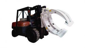 Peralatan Pengendalian Bahan Forklift Paper Roll Clamp