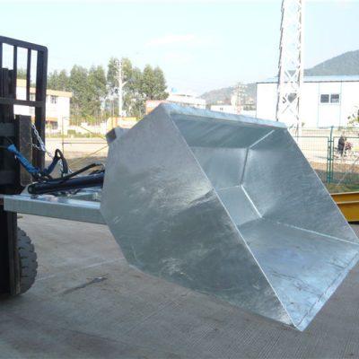 3 ton Forklift dengan baldi, baldi hidraulik