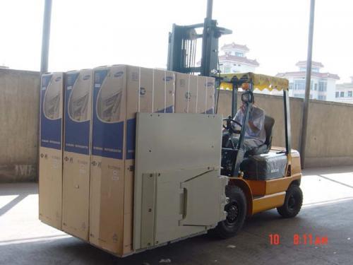 Forklift Attachment carton clamp