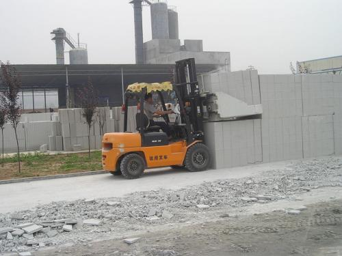 Clamp Block Cement Forklift