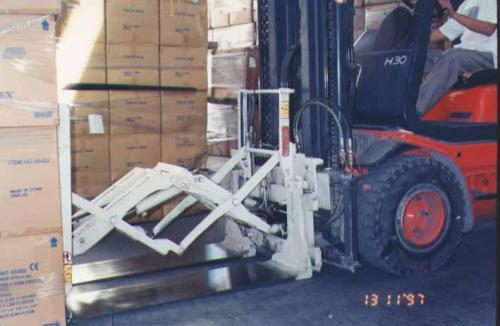 Kegunaan Lampiran Push Forklift dalam Industri Perkakas
